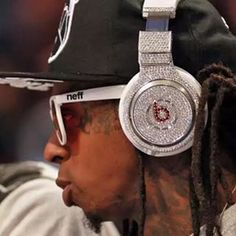 """Who remembers #lilwayne $1 Million custom Beats by Dre Headphones? @beatsbydre #drdere @lilwayne_officialpage_  #rap #music #gadget @tech #luxury #ycmb #like #like4like #likeforlike #likes #likeback #likes4likes #likeforfollow"" Photo taken by @millionaireshoppinggroup on Instagram, pinned via the InstaPin iOS App! http://www.instapinapp.com (09/04/2015)"