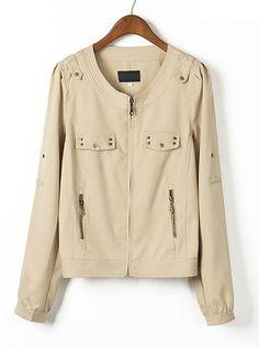 cotton fall jacket