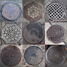 Storm Drain Covers.