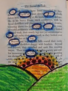Doodlebug Dabblings: black out poetry