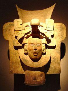 Mask, Monte Alban mexico Native american civilization