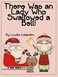 There Was an Old Lady Who Swallowed a Bell-Christmas Activity Pack