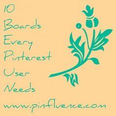 ...insightful points on PInterest boards