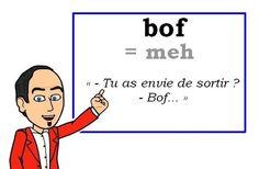 Le mot (familier) du jour : « bof » [bɔf]  #fle #Expressionoftheday #learnfrench #francais Tweets de Media par Les Machin (@Les_Machin) | Twitter