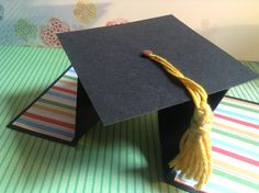 TUTORIAL Tarjeta Graduación Diamante/DIY Diamond Fold Card Graduation