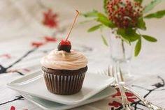Cherry Heart Cupcakes - Kinikinnick