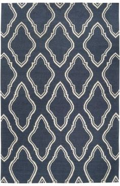 Surya Jill Rosenwald Fallon FAL1043 Slate Blue Rug – Don't know how you feel about Slate Blue, but big fan of the rug.