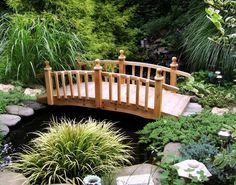 Koi pond decorations pond decorations pond garden ideas medium size decor small pond and garden bridges with water pond decorations japanese koi pond Pond Bridge, Garden Bridge, Amazing Gardens, Beautiful Gardens, Pond Decorations, Wooden Garden, Water Garden, Water Pond, Dream Garden