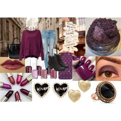 """Plum!"" by nessa-seme on Polyvore"