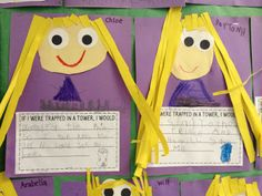 rapunzel Fairy Tale Activities, Teaching Activities, Activities For Kids, Traditional Fairy Tales, Jack And The Beanstalk, Princess And The Pea, Early Literacy, Shrek, Nursery Rhymes