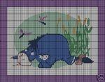 Lazy Eeyore Crochet Pattern