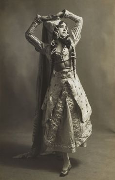 Tamara Karsavina (1885-1978). Russian prima ballerina, renowned for her beauty, who was a Principal Artist of the Imperial Russian Ballet and later of the Ballets Russes of Serge Diaghilev.