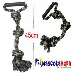 Cuerda militar para perros fuertes como Pit Bull.