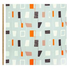 Department store John Lewis has released a textile range featuring floral and abstract archive patterns by British designer Lucienne Day. Lucienne Day, Surface Pattern, Surface Design, John Lewis, Textiles, School Design, Textile Art, Needlepoint, Geometry