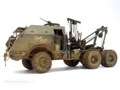 M26 Dragon Wagon tank transporter by Serge Haelterman