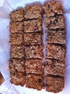 @Ruby648: Fresh baked granola bars from the ECD Veggie Cookbook