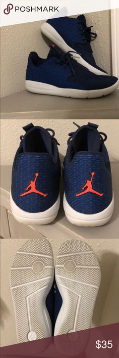 buy popular 4ead0 3c72f Shop Women s Nike Blue size 8 Athletic Shoes at a discounted price at  Poshmark. Description  Boys Nike Jordan Eclipse size Fits a women s size  used still in ...