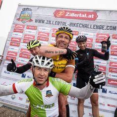 das Mountainbikerennen in Tirol Bike Challenge, Mountain Biking, Challenges, Baseball Cards