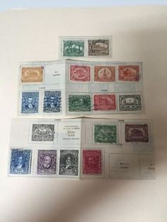 Guatemala 1922-1929- Lot A-52960 - http://stamps.goshoppins.com/latin-american-stamps/guatemala-1922-1929-lot-a-52960/