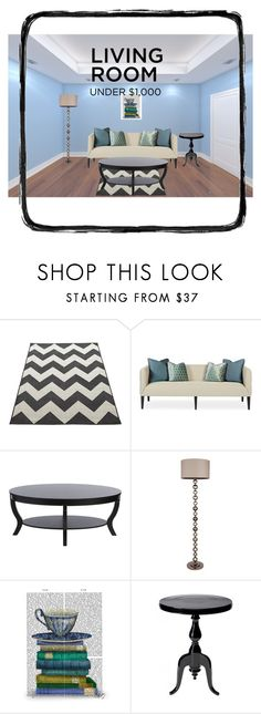 """""""Day-22"""" by kryslyn007 on Polyvore featuring interior, interiors, interior design, home, home decor, interior decorating, FabFunky, livingroom and under1000"""