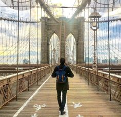 Ponte do Brooklyn (Nova York – EUA)