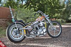 Atomic Trent's BF6 build, Pan/Shovel Harley Davidson Chopper