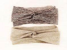 Jersey Knit Criss Cross Headband