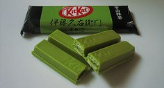 More green tea Kit Kats. I really need to find these!