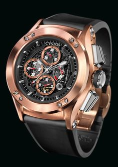 Cvstos Challenge R-50 Chrono 5N Black Movement Round