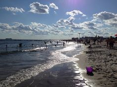 Beaches in Brooklyn: Coney Island, Brighton Beach, and Manhattan Beach... One of the many advantages of living on an island is waterfront access, and Brooklyn has that in spades.