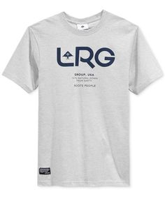Lrg Men's Earth Down T-Shirt