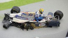 Diorama do GP de San Marino de 1994 - many universes interpretation. Slot Car Racing, F1 Racing, Racing Team, Dodge Charger Daytona, F1 Drivers, Indy Cars, Rally Car, Car And Driver, Panzer