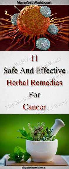 Safe And Effective Herbal Remedies For Cancer