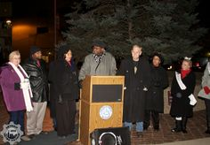 Pontiac elected officials have fun lighting the Tree of Hope  photo credit: Detroit Metro Mashup