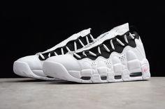 5c49381863c37 2018 Nike Air More Money White/Black-Coral Chalk Men's Size AJ2998-101
