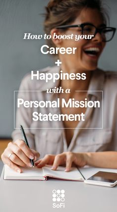 How to write a personal mission statement, why it's important for career happiness, and how it differs from an elevator pitch. This Is Your Life, The Life, Professional Development, Career Development, Personal Development, Career Advice, Marketing, Job Search, Self Improvement
