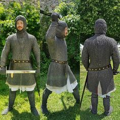 Medieval Weapons, Medieval Knight, Armadura Medieval, Knight Armor, Samurai Art, Iron Age, Knights Templar, Art Reference Poses, Middle Ages
