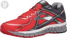 Brooks Men's Adrenaline GTS 16 High Risk Red/Anthracite/Silver Sneaker 9 D (M) (*Amazon Partner-Link)