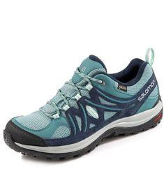 Salomon Ellipse 2 Outdoorschuhe in blau/türkis #salomon #outdoorschuhe #gebrüdergötz Gore Tex, Asics, Sneakers, Shoes, Fashion, Hiking Shoes, Runing Shoes, Hiking, Color Blue