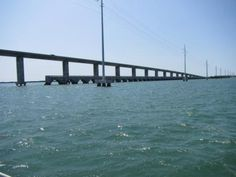 a long and rather large bridge connecting  low metecumbe key to long key. great view from the boat