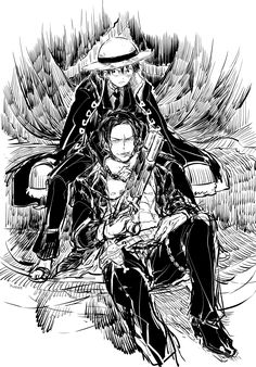 Ace & Luffy, D. Brothers