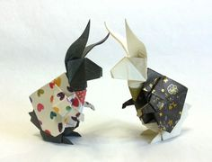 Rabbit in Wonderland -Designed by Keigo Matsuda , Folded by Uncle.