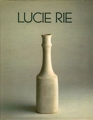 Lucie Rie Exhibition Catalog, Galerie Besson, UK, 1988