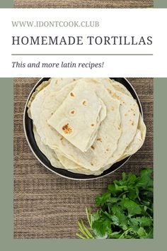If you haven't tried a handmade tortilla you haven't really tried a real tortilla: Flaky, soft, and flavorful. Easy and the results are amazing! Fresh Tortillas, Homemade Tortillas, Flour Tortillas, Old Recipes, Mexican Food Recipes, Ethnic Recipes, Baking Tips, Baking Recipes, Taco Lettuce Wraps