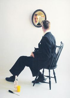 Vincent Price for Smirnoff, 1955. Photoby Bert Stern.