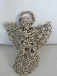 Paperyarn angel, enkeli paperilangasta