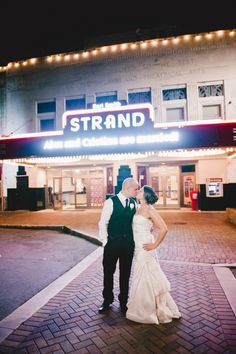 A Really Cool Place For Wedding The Strand Theatre In Marietta Ga
