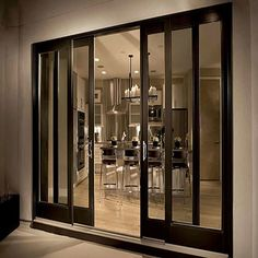 Among other types of doors that available on the market, the sliding door is the best option for any type of home. For those who live in tiny apartment, the sliding door is . Read MoreHow to Replace a Sliding Glass Door Properly House Design, Door Design, Wood Doors, Glass Doors Patio, Door Fittings, French Doors Exterior, Sliding Wood Doors, Sliding Door Design, Sliding Doors Exterior