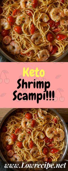 Keto Shrimp Scampi!!! - Low Recipe