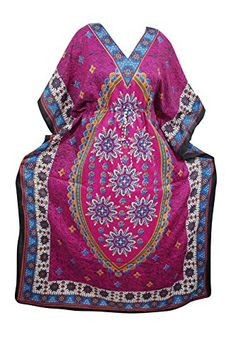 Womens Evening Caftan Dress Floral Print Maxi Kaftan Boho... https://www.amazon.com/dp/B073Y7MQHC/ref=cm_sw_r_pi_dp_x_8e9AzbNT9XMHC